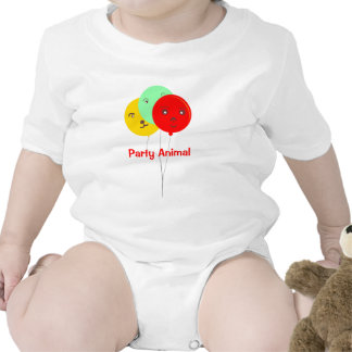 Party Animal 3 BalloonsT shirts