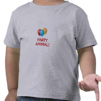 PARTY ANIMAL Balloons Toddler T-Shirt