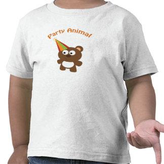 Party animal bear tshirts