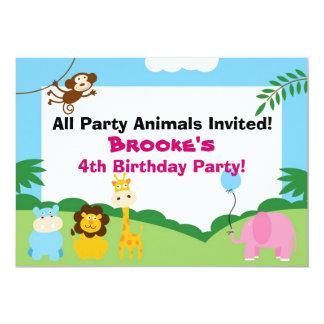 Party Animal, Birthday Invite