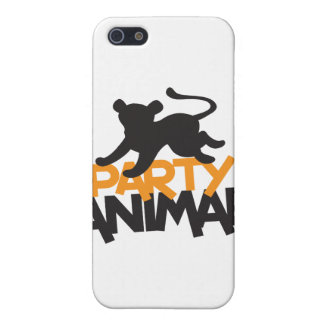 Party Animal! cat leaping iPhone 5/5S Cover
