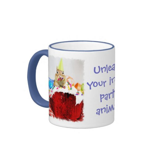 Party Animal Chipmunk Mug