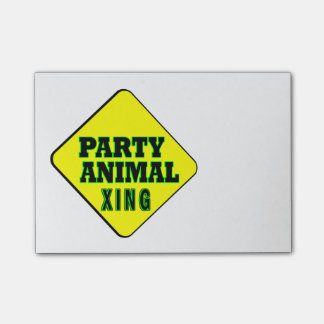 Party Animal Crossing Post-it® Notes