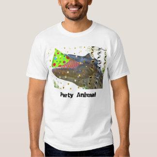 Party Animal Dinosaur T Shirt