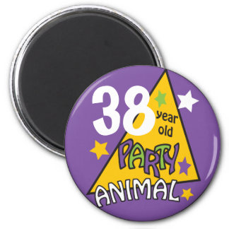 Party Animal  | DIY AGE | Birthday Humor 2 Inch Round Magnet