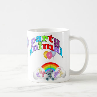 Party Animal Fun Classic White Coffee Mug