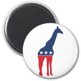 Party Animal - Giraffe Magnet