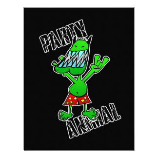 Party Animal Personalized Letterhead