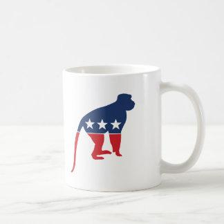 Party Animal - Monkey Classic White Coffee Mug