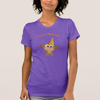 Party Animal! Monkey Tshirts