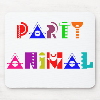 Party Animal Mouse Pad