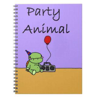 Party Animal Notebooks