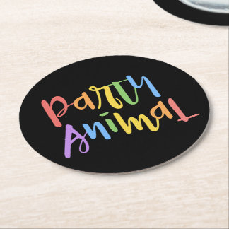 Party Animal Paper Coasters