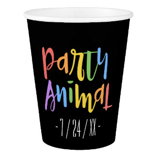 Party Animal Party Cups