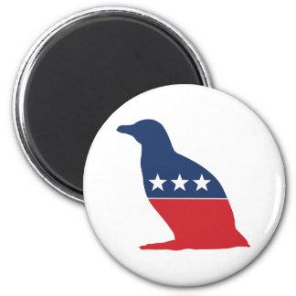 Party Animal - Penguin Fridge Magnet