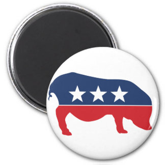 Party Animal - Pig Fridge Magnet