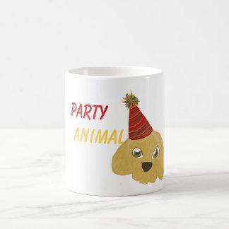 Party Animal Puppy Mug