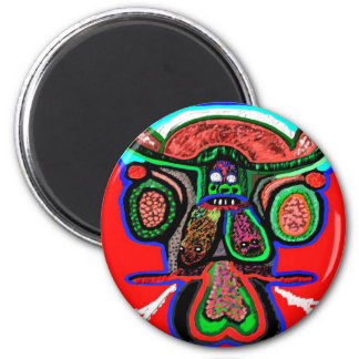 Party Animal - Red Bull in high spirits 2 Inch Round Magnet