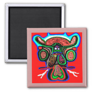 Party Animal - Red Bull in high spirits Square Magnet