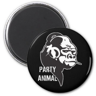 Party Animal Refrigerator Magnets