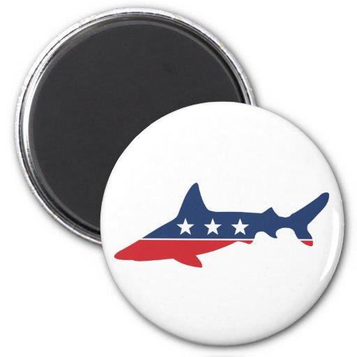 Party Animal - Shark Fridge Magnet