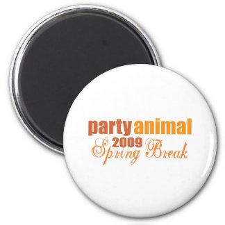 party animal spring break 2009 refrigerator magnets