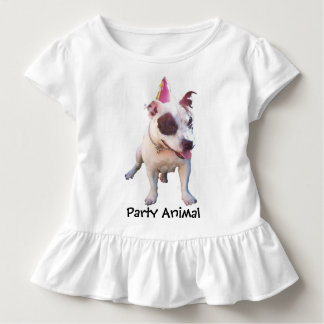 """Party Animal"" Toddler Dress Tshirt"