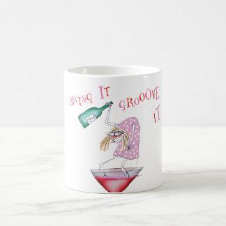 party animal tony fernandes coffee mug