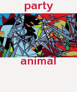 party animal women t-shirt