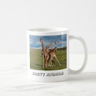 Party Animals Classic White Coffee Mug