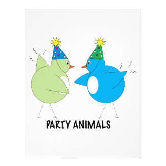 Party Animals Personalized Letterhead