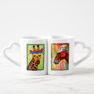 Party Animals Nesting Mugs
