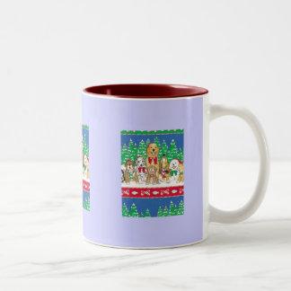 party animals Two-Tone mug