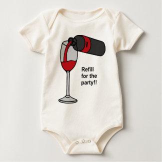 party baby bodysuit