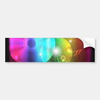 Party Background Bumper Sticker