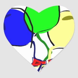 Party Ballons Stickers
