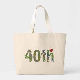 Party Balloon 40th Birthday Gifts Large Tote Bag