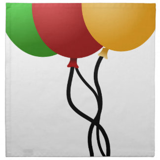 Party Balloons Napkin