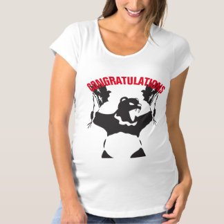 Party Bear Maternity T-Shirt
