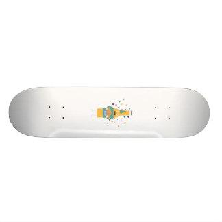 Party Beer Bottler with Cake Z4zzo Custom Skate Board