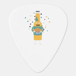 Party Beer Bottler with Cake Z4zzo Guitar Pick