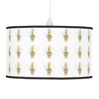 Party Beer Bottler with Cake Z4zzo Pendant Lamp