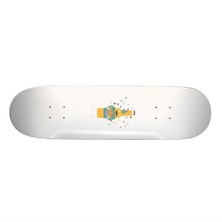 Party Beer Bottler with Cake Z4zzo Skate Deck