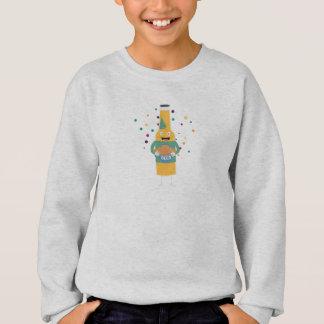 Party Beer Bottler with Cake Z4zzo Sweatshirt