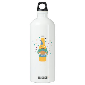 Party Beer Bottler with Cake Z4zzo Water Bottle