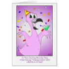 Party Bird: Gay Birthday Card