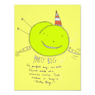 Party Bug Card