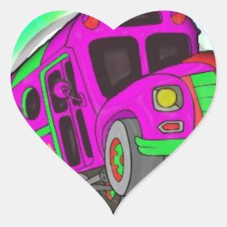 Party Bus.jpg Heart Sticker