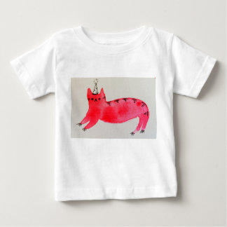 Party cat baby t-shirt