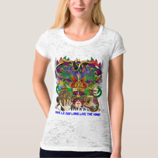 Party Combo Kings DJ. Dragon, Pirate, Mardi Gras T-Shirt